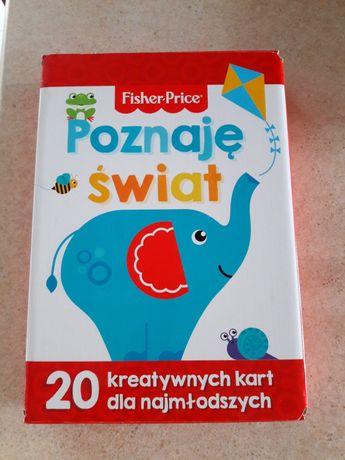 Fisher Price. 20 kreatywnych kart dla najmłodszych. Nowe