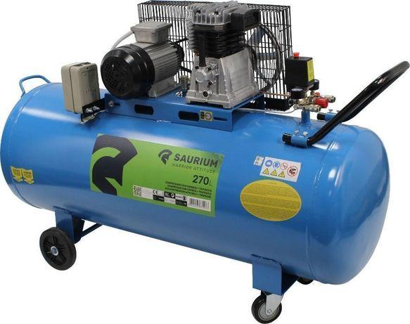 Compressor de Ar 270 L, 4 HP, Elétrico - SAURIUM®