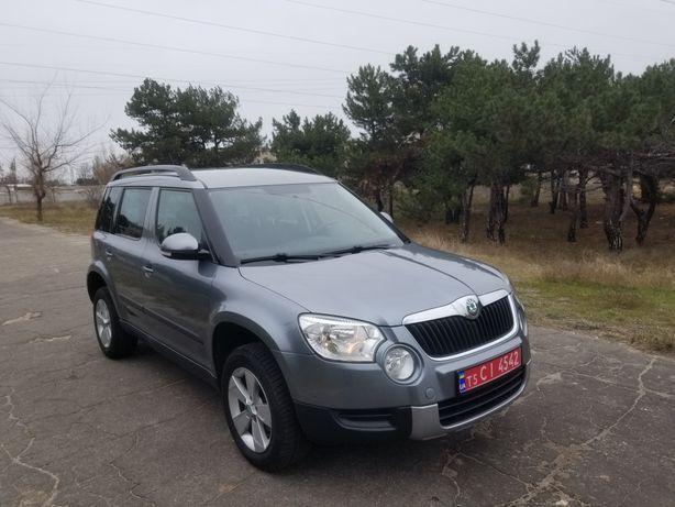Автомобиль Skoda Yeti