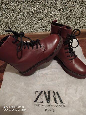 Zara черевики ботинки весна осінь