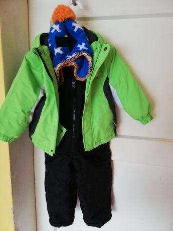 Kurtka spodnie czapka zimowe
