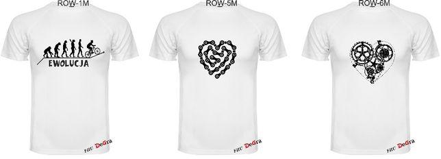 Koszulka Oddychająca Termiczna Na Rower Męska rozm. S-2XL MIX Wzorów