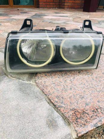 Lampa reflektor lewy bmw e36 compact hella