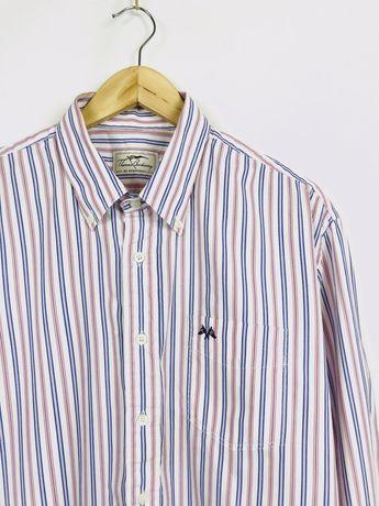 Burberry XL рубашка в полоску prada