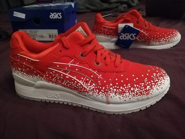 buty sportowe czerwone asics Gel Lyte III red rozmiar 44,5 (28,5 cm)