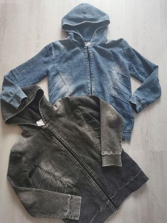 Bluza chłopięca z kapturem bliźniaki bliźniaków 140 146 a la jeans