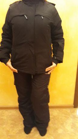 Лыжный костюм черный