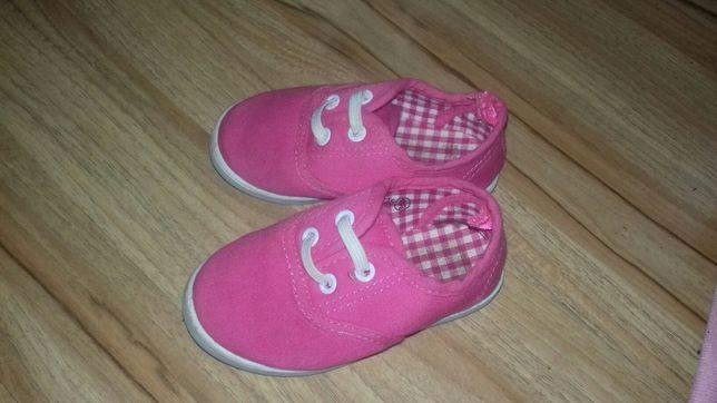 Trampki, buty różowe 21