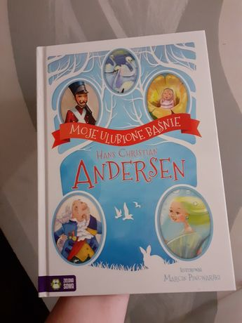 Nowa książka baśnie Andersena