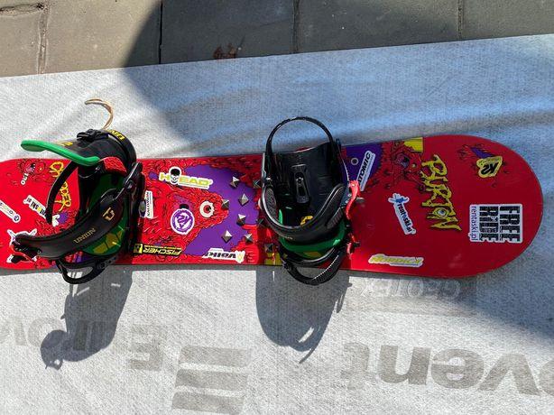 Deska Snowboardowa Burton + Wiązania