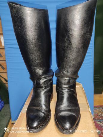 Botas altas N°40 cavalaria.