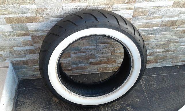 pneu harley davidson 180 . 65 .16 dunlop banda branca