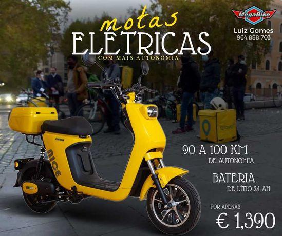 Motas Elétricas novas (a partir de 399€)