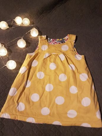 Sukienka kropki 80 86