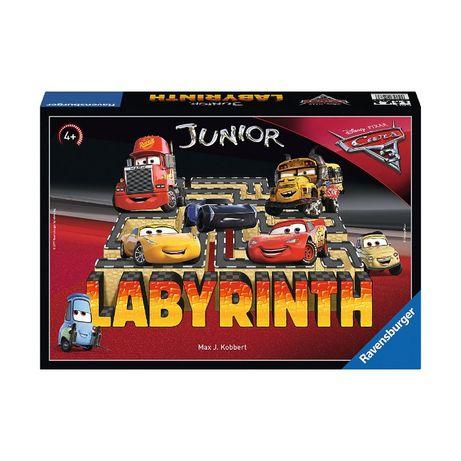 Ravensburger Дисней Pixar Cars 3 Junior Лабиринт, настольная игра
