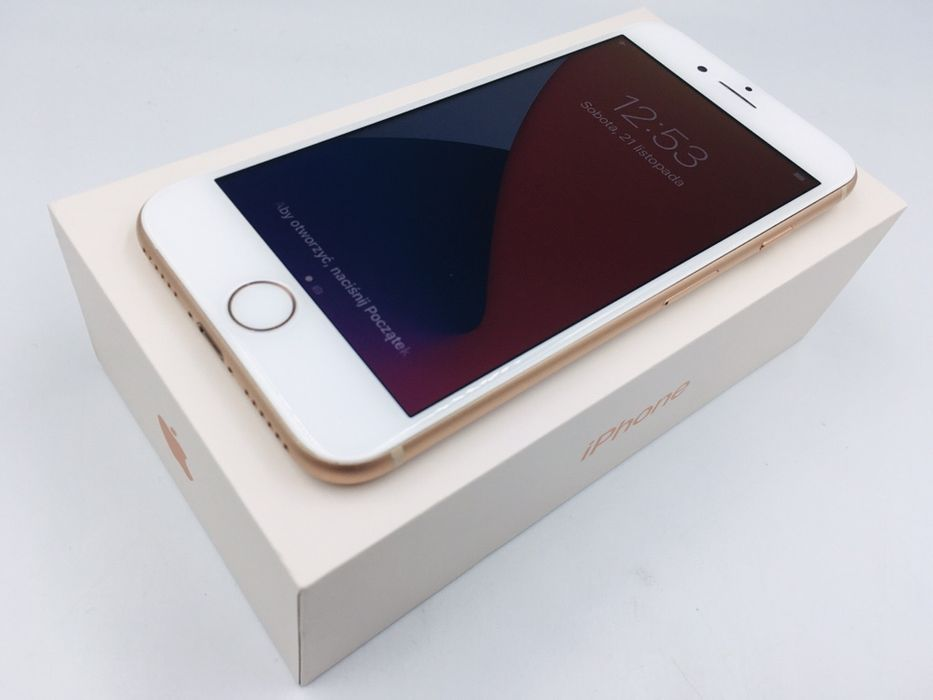 iPhone 8 64GB GOLD • PROMOCJA • GWAR 1 MSC • AppleCentrum Wrocław - image 1