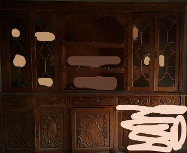 Móvel sala de jantar/aparador/cristaleira