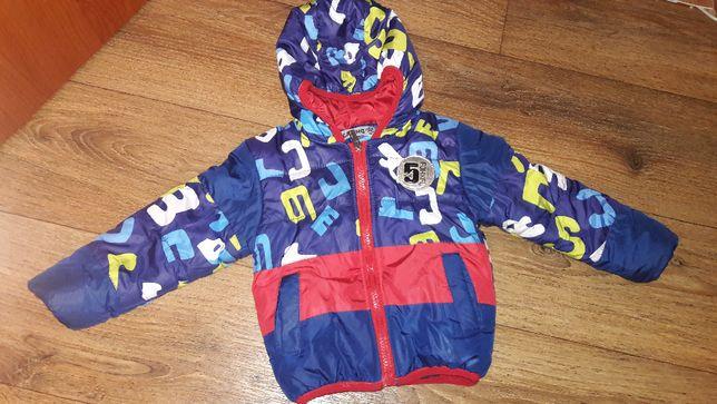 Куртка демисезонная для мальчика 1-2 года