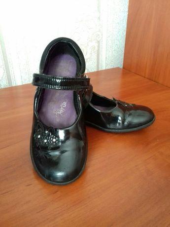 Clarks туфли, туфельки на девочку 18 см.