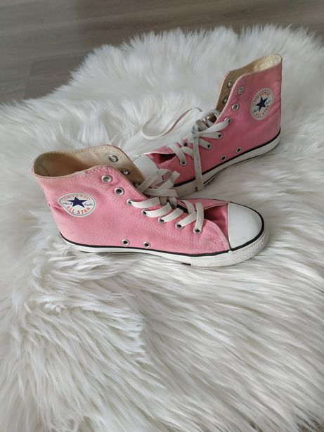 Różowe Converse roz. 35 za kostke, Chuck Taylor