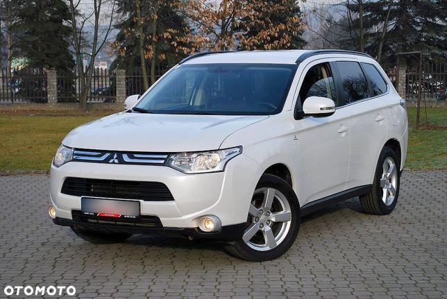 Mitsubishi Outlander 4wd Pełny Serwis Zarejestrowany W Polsce