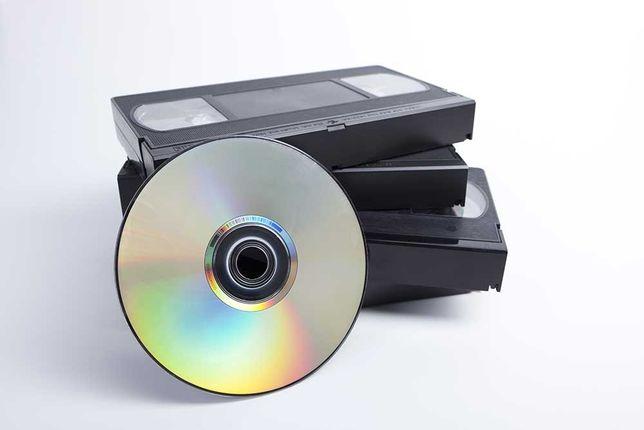 Przegrywanie kaset VHS do pliku video (DVD, pendrive)