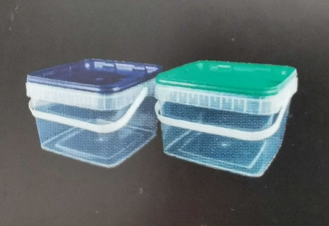 Wiaderka plastikowe do kiszonek, ogórków, kapusty, ryb, masła itp.