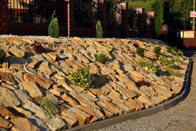 Kamień ogrodowy na ogród do ogrodu skalniak murki grilla skarpy łupek