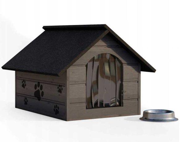 BUDA legowisko kojec dla psa drewniana ocieplana . owczarka labradora