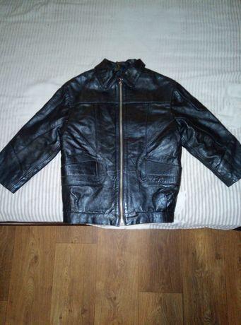 Кожаная куртка для мальчишки