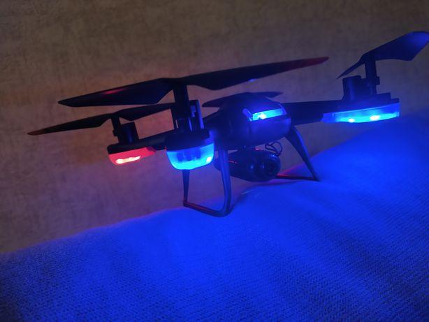 Dron sprawny, brak oslonek na skrzydla