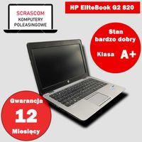 Laptop HP EliteBook G2 820 i5 8GB 240GB SSD Windows 10 GWAR 12msc