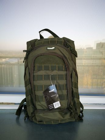 Plecak COBER oliwkowy - firmy texar - nowy 2lata gwarancji