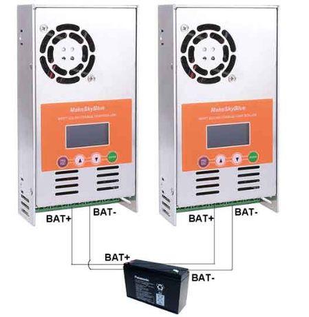 MakeSkyBlue MPPT 60A Солнечный контроллер заряда 12/24/36/48В