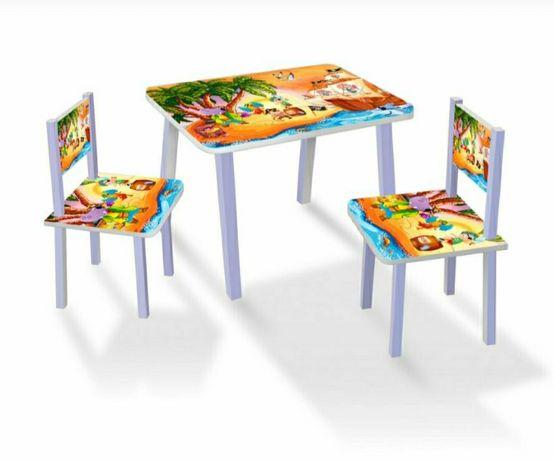 Столик с стульчиками