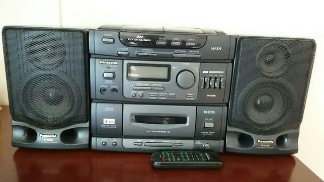 Wieża radiomagnetofon boombox Panasonic RX-DS790
