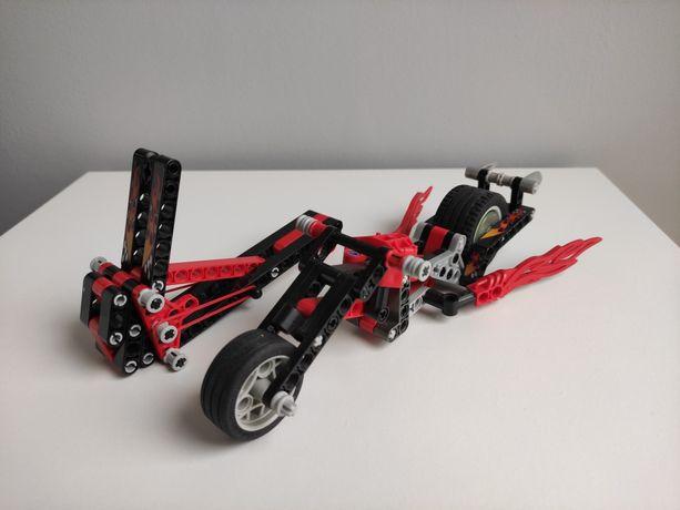 Motocykl LEGO Technic Racer z wyrzutnią