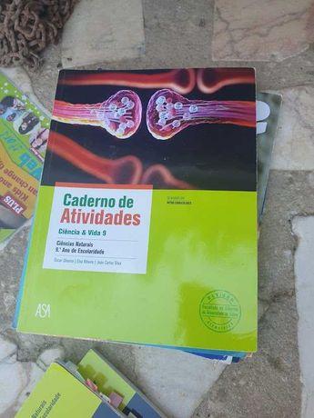 Manual Escolar DE CIENCIAS 9ano + caderno de atividades