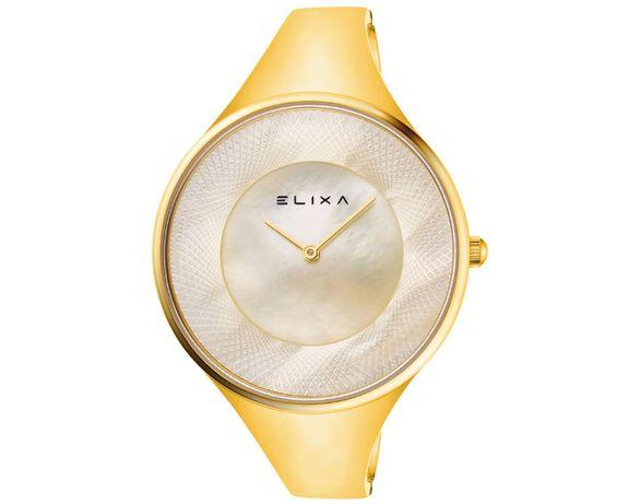 APART cudny złoty zegarek damski Elixa Beauty E132 L561 nowy pudełko