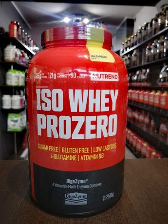 NOWOŚĆ, ISO WHEY PROZERO z Enzymami Trawiennymi Nutrend 2250g!