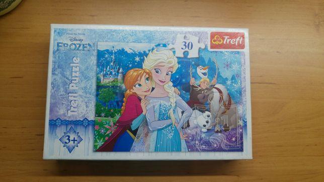 Puzzle Frozen Trefl 30