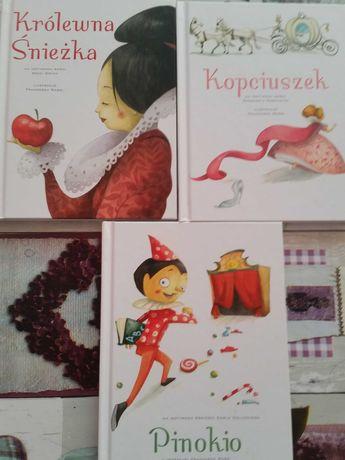 Zestaw książek dla dzieci bajki baśnie