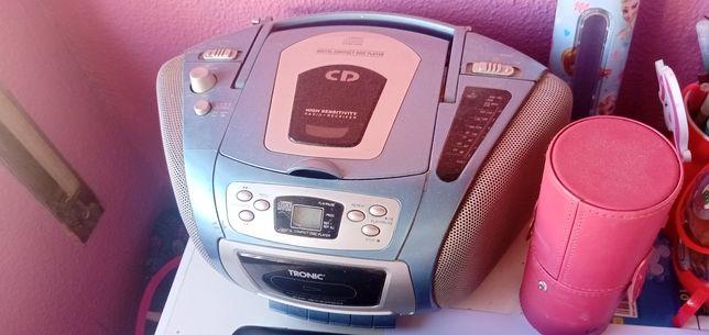 Rádios com cd mp3