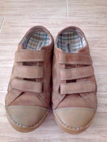 кросовки кожаные унисекс