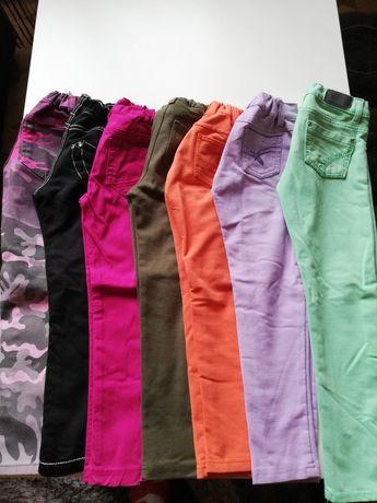 Spodnie dla dziewczynki 4-5 lat