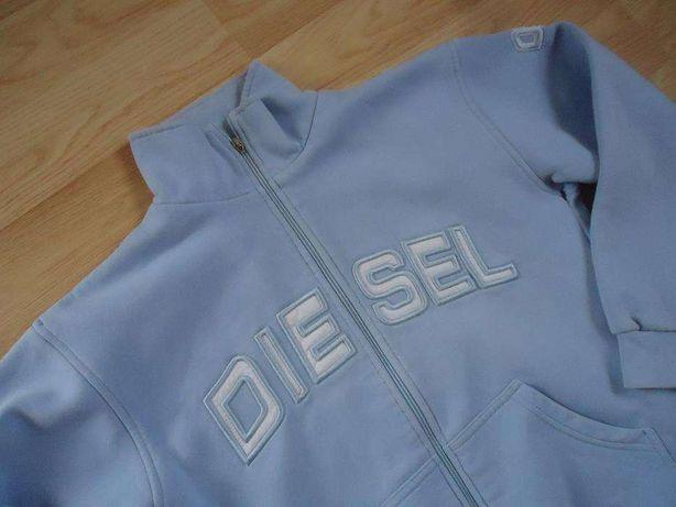 bluza DIESEL S niebieska