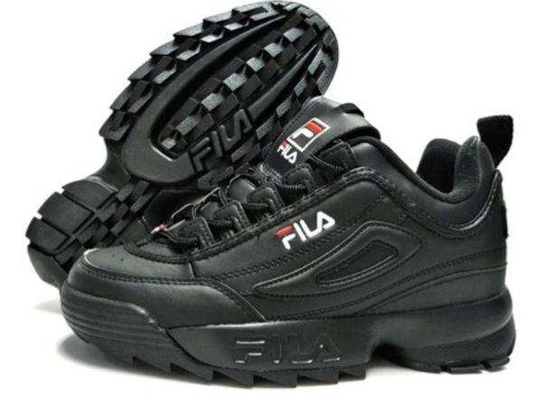 Buty sneakersy Fila Disruptor II Low black