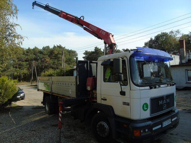 HDS -Wywrotka usługi transportowe-markety,hurtownie budowlane-Tanio