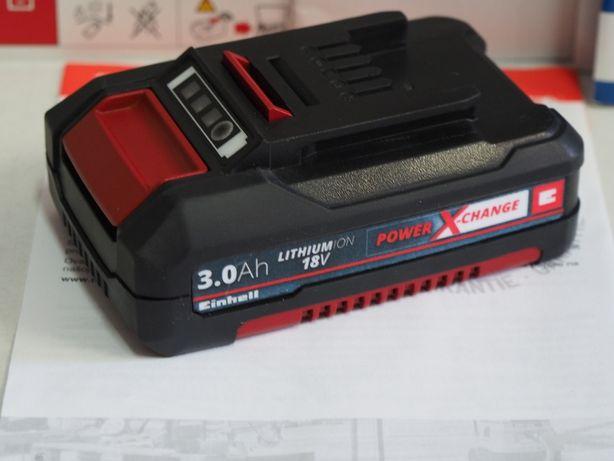 Bateria EINHELL 18v 3Ah Nowy Model akumulator pila wkretarka klucz