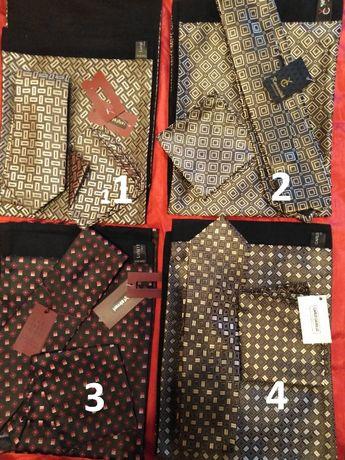 Комплект мужской(шарф,галстук,платочек)